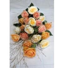 Bouquet de rose à déposer