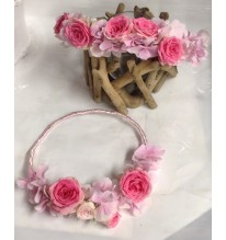 Couronne rose