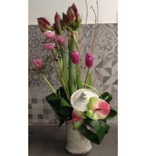 Porcelaine en fleurs
