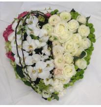 Cœur d'orchidée