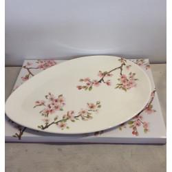 Plat de service en porcelaine Sakura