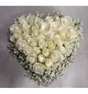 Cœur de roses