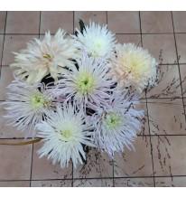 Bouquet chrysanthème prestige